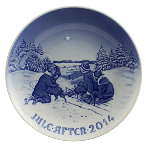 Royal Copenhagen Dogs - Bing and Grondahl 2014 Christmas Plate