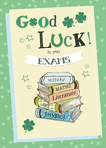 Amazoncom Exam Good Luck Wishing Well Studios New Male Female