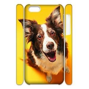 LJF phone case C-Y-F-CASE DIY Cute Dog Pattern Phone Case For iphone 6 plus 5.5 inch