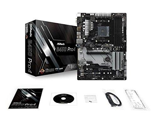 B450 PRO4 ASRock ATX Motherboard