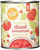 Natural Value Organic Diced Tomatoes in Tomato Juice, 28 Ounce Can