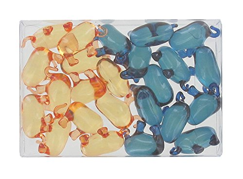 Box of 24 fantasy bath pearls - elephants duo S&B