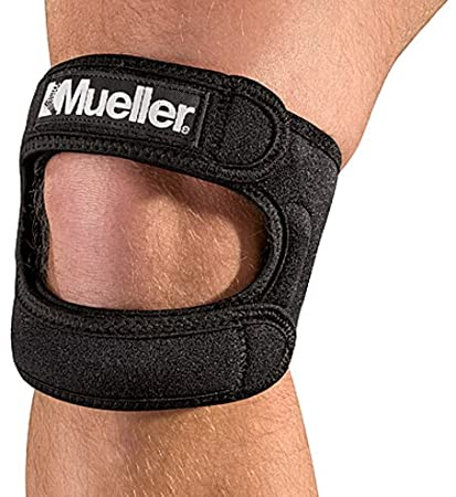 3c400862c9 Image Unavailable. Image not available for. Color: Mueller Max Knee Strap,  Black, One Size ...
