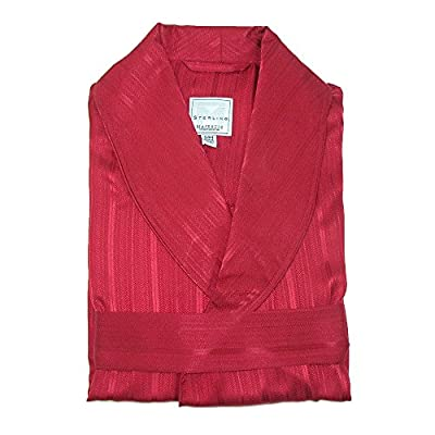 Majestic International Men's Silk Shawl Robe