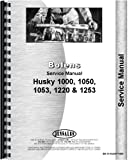 Bolens Husky 1220 Lawn & Garden Tractor Service Manual