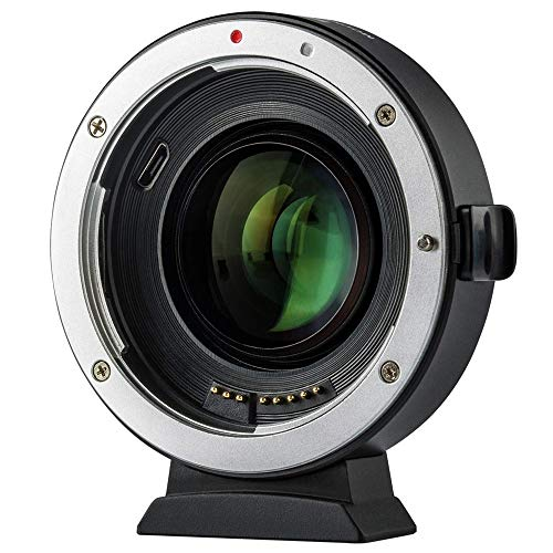 VILTROX EF-FX2 Auto Focus Lens Mount Adapter for Canon EF Lens to Fuji X-Mount Mirrorless Camera X-T1 X-T2 X-T10 X-T20 X-A1 X-A2 X-A3 X-A5 X-A10 X-A20 X-E1 X-E2 X-E3 X-E2S X-H1 X-PRO1 X-PRO2 (Best Fuji Mirrorless Camera)