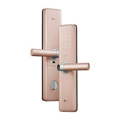 Cerradura de huella digital Cerradura inteligente Cerradura electrónica Contraseña Cerradura Cerradura de puerta inteligente Seguridad para