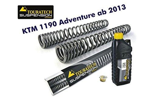 TOURATECH(ツラーテック): Hyperproスプリング フロントフォーク用 KTM 1190 Adventure (2013-)   B00VJC3O38