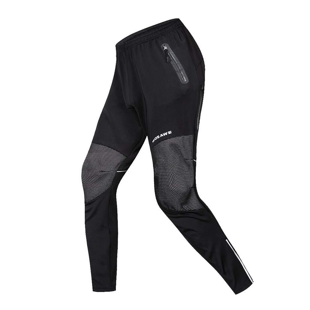 Pantalone da Ciclista WOSAWE Bicicletta Giacca Pantaloni Set Antivento Manica Lunga Inverno Caldogiacca