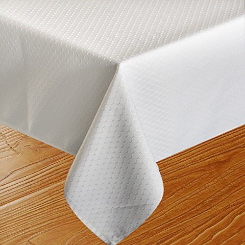Eforcurtain heavy duty rectangular table cover fabric for Table runners 52 inches