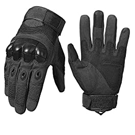 SR SUREADY Full Finger Off-Road Summer Riding Long Finger Cycling.Motorbike Riding Gloves Hard Case Anti-Slip Motorbike…
