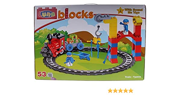 Stop & Look 000658256 - Juego de 53 Piezas de construcción de ...