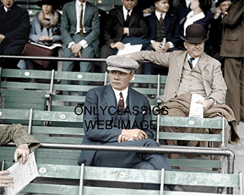 OnlyClassics 1922 New York Yankee Babe Ruth Griffith Stadium SEAT 8X10 Color Photo Baseball (Best Seats At Yankee Stadium For Baseball)