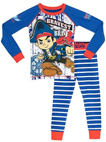 Jake and the Neverland Pirates Boys' Jake Pajamas Size 4T (Jake And The Neverland Pirate Characters)