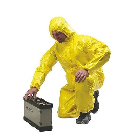 gz Traje de protección química peligroso dedicado con ...