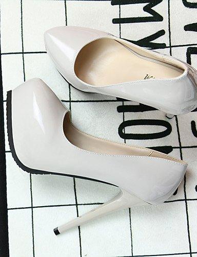 GGX/Damen Schuhe Patent Leder High Heels Spitz Zulaufender Zehenbereich Frauen Pumpe Hochzeit Party & Abend Kleid Stiletto Ferse nude-us4-4.5 / eu34 / uk2-2.5 / cn33