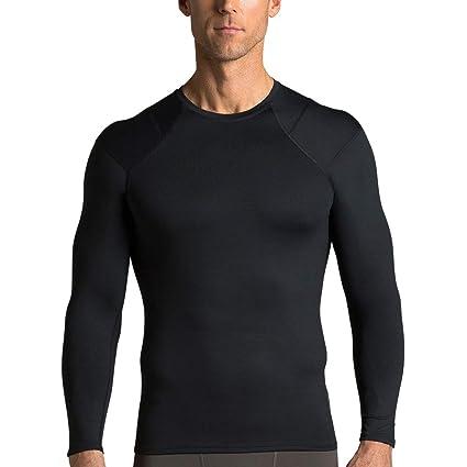 6a692a9894 Amazon.com: Tommie Copper Men's Long Sleeve Shoulder Support Shirt ...