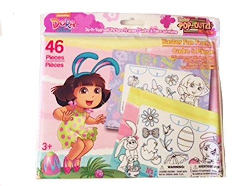 Nickelodeon Dora the Explorer Easter Pop-Outz! Fun Frames - 2 Frames, decorations, markers and (Dora Pop)
