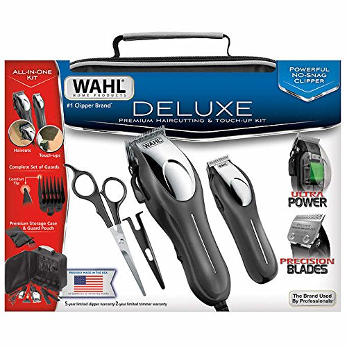 Deluxe Home Haircut Kit - Deluxe Premium Haircutting & Touch-Up Kit - By Wahl
