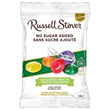 Russell Stover Assorted Fruits No Sugar Added Hard Candies Bag, 150g