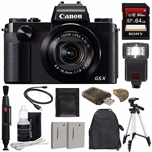 Canon PowerShot G5 X Digital Camera + Extra