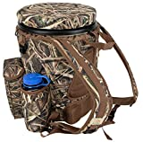 Peregrine Venture Bucket Pack Hunting Bucket Backpack Combo, Mossy Oak Shadowgrass Blades