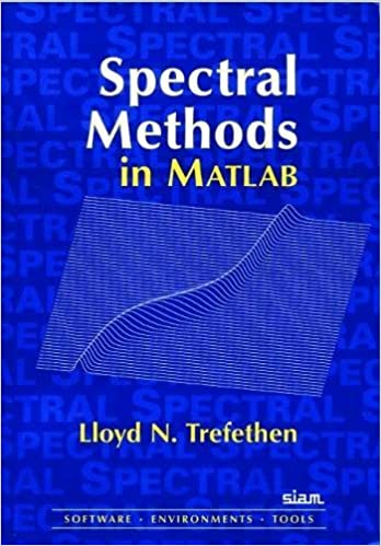 Spectral Methods in MATLAB (Software, Environments, Tools