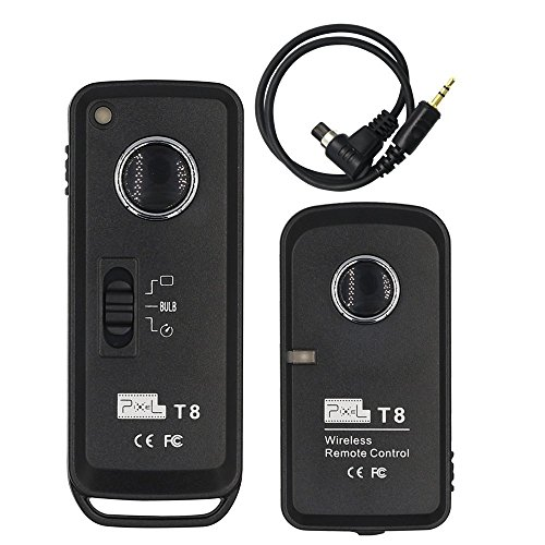 PIXEL Wireless Shutter Release Timer Remote Control T8/ N3 (Replacement TW-283 RW-221)for Canon EOS 1D Mark III,5D Mark III, , 5D Mark II, 7D, 50D, 40D, 30D (Canon Eos 40d Switch)