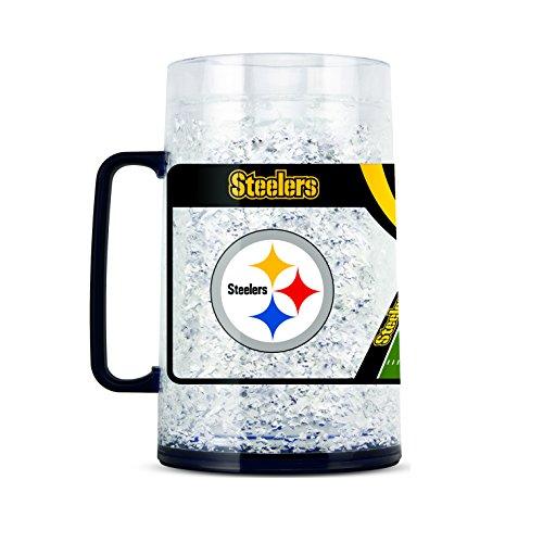 (NFL Pittsburgh Steelers 38oz Crystal Freezer Monster Mug)