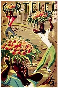 "Amazon.com: 11""x 14"" Poster. ""Carteles Magazine cover"" Fruit street"