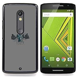xxxx Caja protectora de pl??stico duro Dise?¡Àado King Case For Motorola Verizon DROID MAXX 2 / Moto X Play