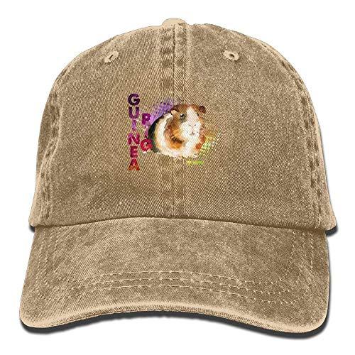 Mini Baseball Hat Adjustable Hat Male Denim Watercolor Pig Yuting Gorras Guinea béisbol xTv4wqczS1