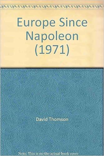Book Europe Since Napoleon (1971)