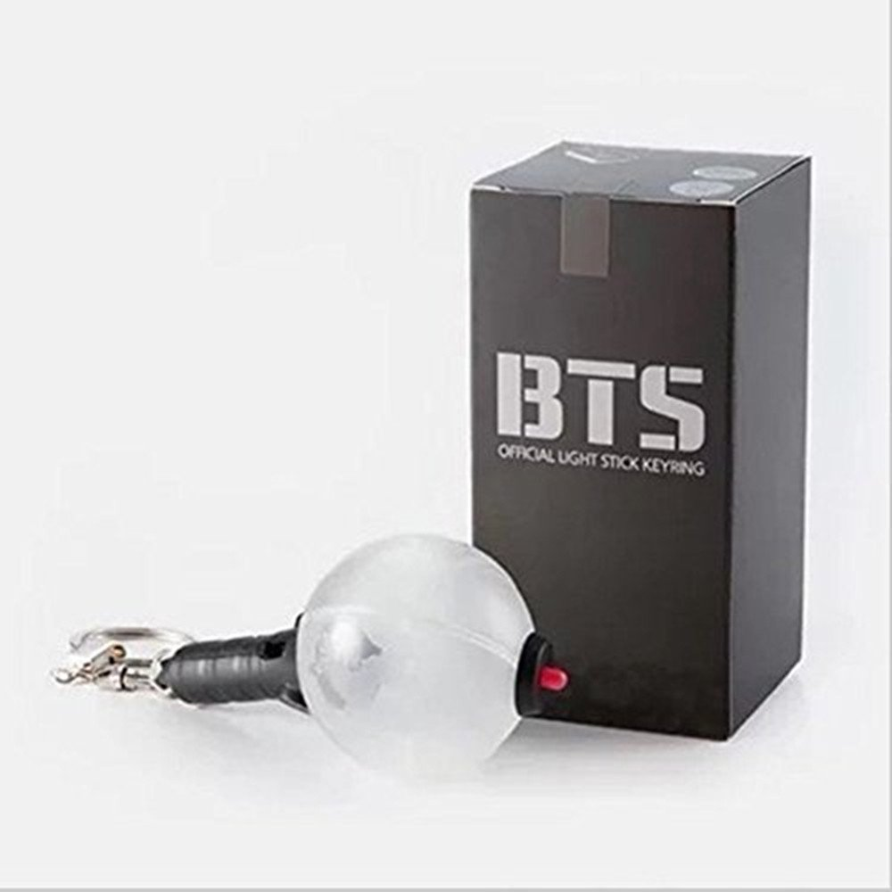 Kpop BTS Army Bomb Light Boys Mini Concert Lamp KeyChain Key Ring
