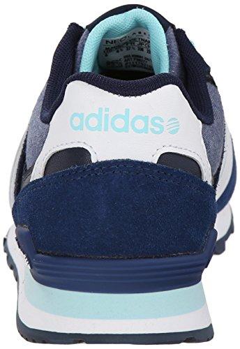 adidas NEO Women's 10K Lifestyle Sneaker, BlueWhiteBlue, 6