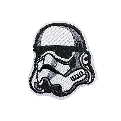 Star Wars Imperial Stormtrooper Patch Individuality Hat patches Embroidered Iron on sew on patches