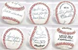 500 Home Run Club Multi Signed Baseball 11 AUTO 's Mantle Ted Williams + JSA LOA