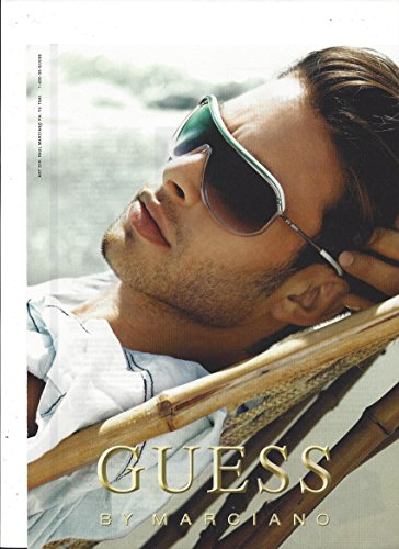 **PRINT AD** With Jacey Elthalion For 2008 Guess By Marciano - Sunglasses 2008