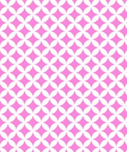 Adesivo Decorativo Gekkofix - Decor Moda - Trendy Pink
