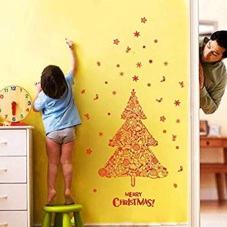 2018 Year Christmas Decorations And Rain Proof Ground Decoration Lights - Wall Stickers