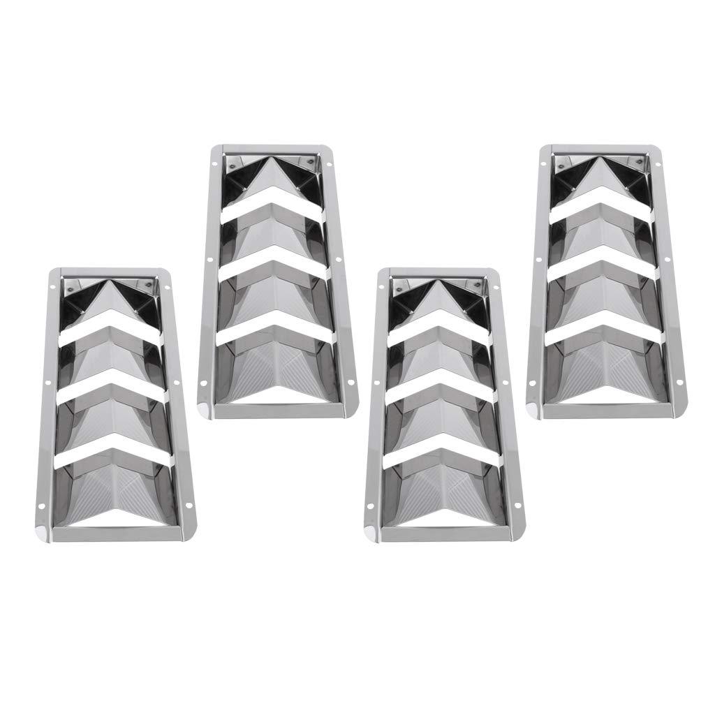 Homyl 4 Pcs Ventilador para Veletas de Barco Fácil Instalar de Barco Duradero 269mm