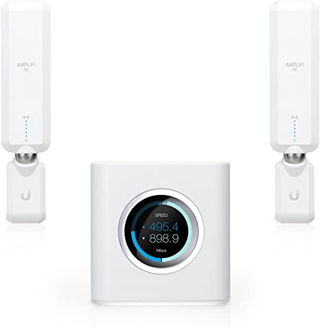 1 WAN Port Ethernet Cable 2 Mesh Points Replaces Router /& WiFi Extenders HD WiFi Router 4 Gigabit Ethernet AmpliFi Gamer/'s Edition WiFi System by Ubiquiti Seamless Whole Home Wireless Internet