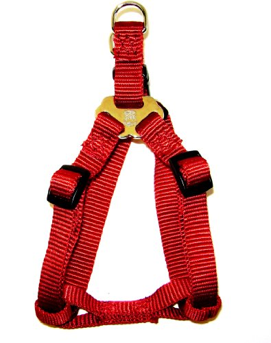 Hamilton Adjustable Easy-On Step-In Style Dog Harness, 5/8-Inch by 12-20-Inch, Small, Red, My Pet Supplies