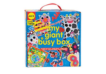 Giant Busy Box (My Giant Busy Box Gear Art And Craft Toys, 2017 Christmas Toys)