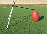 Kickoff! Football Holder --- Football Place Holder Kicking Tee -- Use with Foot ball Field Goal Post or Football Kicking Net (Black and White)