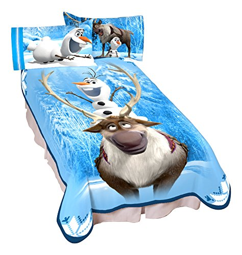 "UPC 073558699347, Disney Frozen Olaf Snowlife Microraschel Blanket, 62"" x 90"""