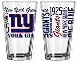 New York Giants Official NFL 16 fl. oz. Spirit Pint Glass