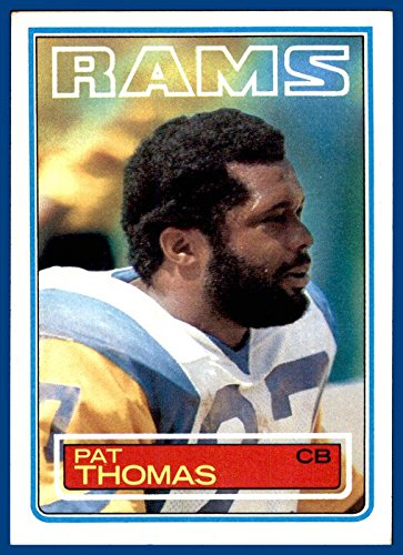 1983 Topps #95 Pat Thomas LOS ANGELES RAMS TEXAS A&M AGGIES (ex-mt+)