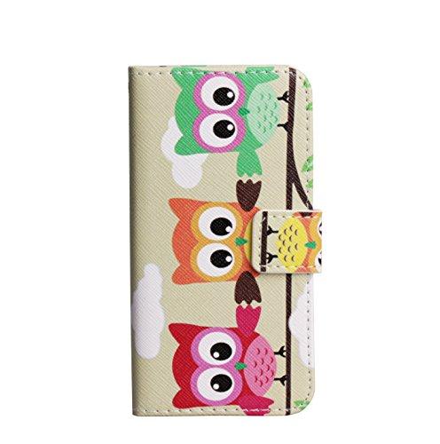 Monkey Cases® iPhone 6 PLUS / 6s Plus - 5,5 Zoll - Flip Case - EULE - Premium - original - neu - Tasche #13