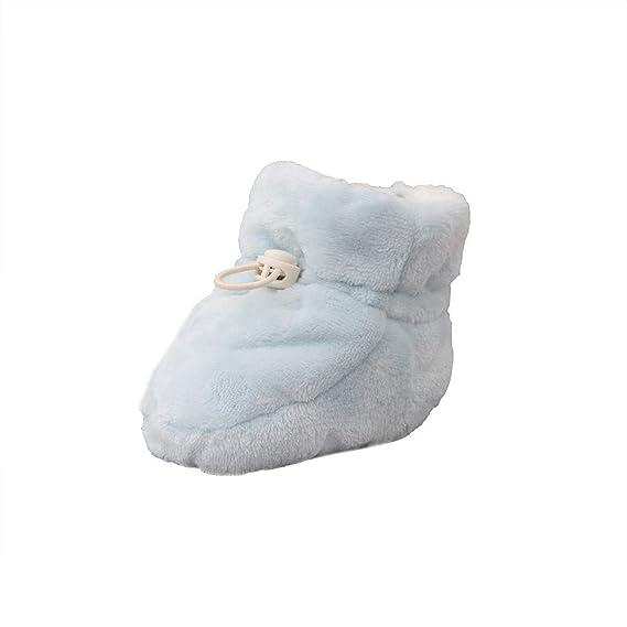 YanHoo Zapatos para niños Otoño e Invierno Zapatos para bebés engrosados más Terciopelo recién Nacido pies bebé niño Zapatos Franela Zapatos cálidos Gruesos ...